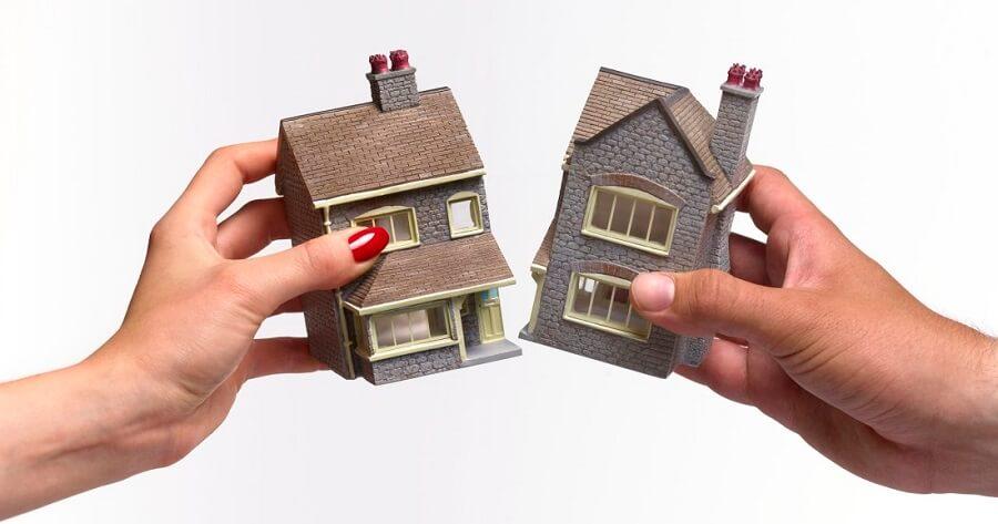 ločitev in delitev premoženja